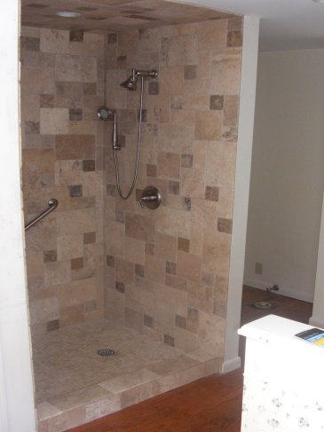 new master shower