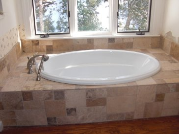 new master bathtub